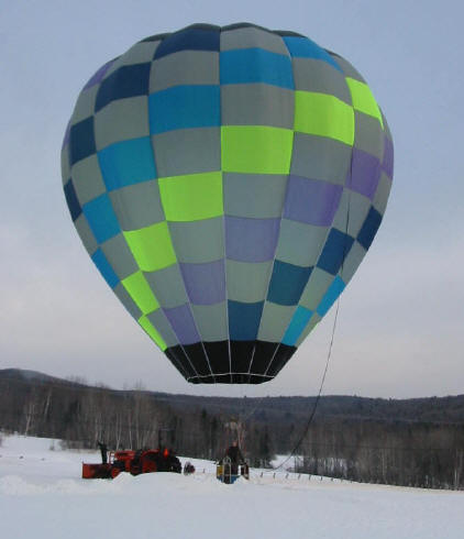 Do-it-yourself hot air balloon building